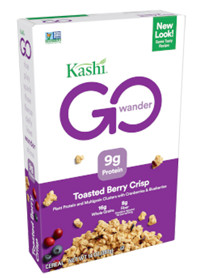 Kashi GO Crisp! Toasted Berry Crumble Cereal