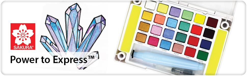 Koi Water Colors CAC 24