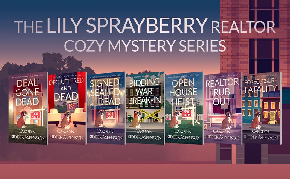 Lily Sprayberry Realtor Cozy Mystery Series