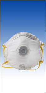 Mercer Industries D10008N N95 NIOSH Approved Particulate Respirator with Valve, 10 Pack
