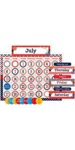 Nautical Calendar Bulletin Board