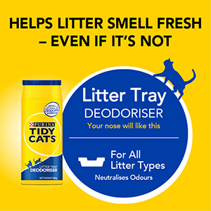 TIDY CATS Litter Deodoriser for all litter types