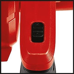Nero Rosso 18 V Einhell 3408001 Soffiatore a Batteria Te-CB 18//180 Li Solo