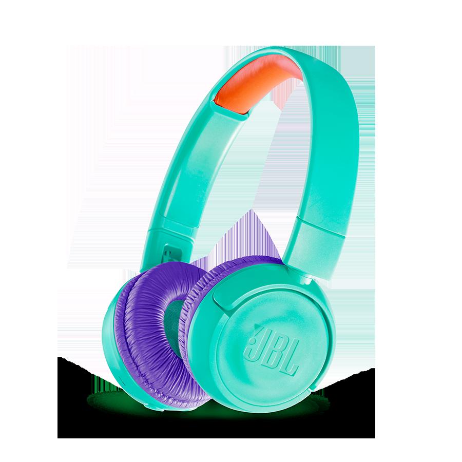 Inocuos, ligeros y con un tamaño adaptado para niños, con los auriculares inalámbricos JBL JR300BT los amantes de la música de más temprana edad pueden ...