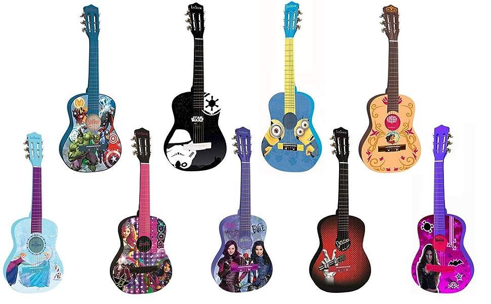 Soy Luna-Disney Guitarra Clásica De 6 Cuerdas, 78 cm Largo ...
