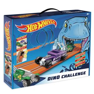 Hot Wheels- Dino Challenge Circuito Slot, Multicolor (Fábrica de Juguetes 91008) , color/modelo surtido: Amazon.es: Juguetes y juegos