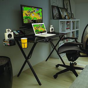 Miraculous Atlantic Gaming Original Gaming Desk Pro Curved Front 10 Games Controller Headphone Speaker Storage 40 25X23 5 Curved Front Desktop Home Interior And Landscaping Pimpapssignezvosmurscom