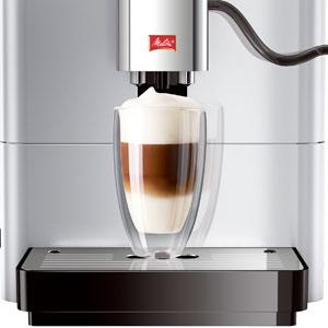 Melitta Passione OT F531-101, Cafetera Automática con Molinillo, Personalizable, Depósito de leche, Café en Grano, Limpieza Automática, 15 Bares, Plata: Amazon.es: Hogar