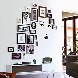Unique Gallery Wall
