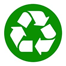 Strong, versatile trash bins are completely reusable, recyclable and disposable for easy clean up!
