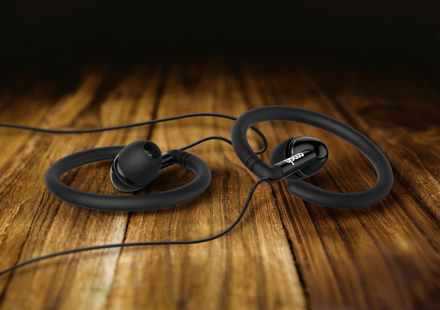 Earbuds package - panasonic earbuds black