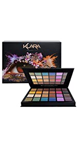 Klara Cosmetics Marrakech 24 eyeshadow palette
