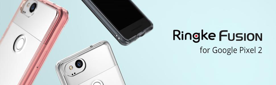 Husa Google Pixel 2 Ringke Fusion Clear