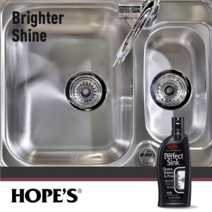 sink cleaner polish shine stainless protects granite quartz porcelain wax cast iron corian scratch