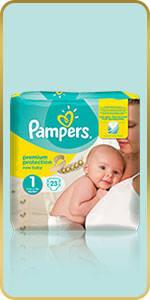 Pampers Premium Protection New Baby Windeln