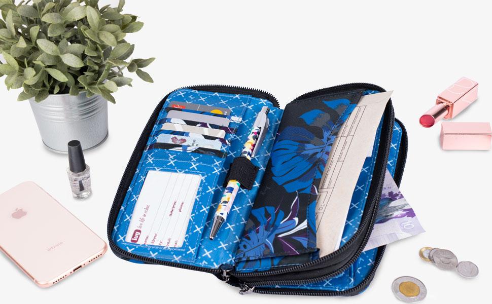 wallet, travel wallet, everyday wallet, wallet for women, women's wallet, large wallet