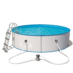 Bestway 56386 - Piscina (Montura, Gris, Full Color Box): Amazon.es ...