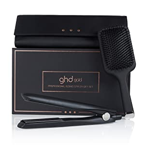ghd gold gift set - Set de regalo de plancha de pelo profesional dual-zone: Amazon.es: Salud y cuidado personal