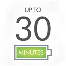 Enjoy the decent running time with up to 30 minutes of operation