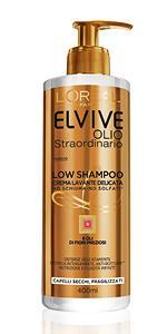Low Poo, capelli, secchi, shampoo, crema lavante, co-washing, Elvive, shampi, sciampo, sciampi, crem