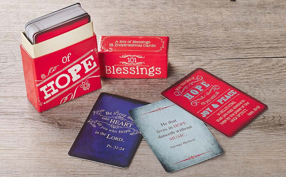 Christian Art Gifts A Box of Blessings
