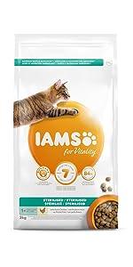 Karma dla kotów Iams dla sterylizowanych kotów