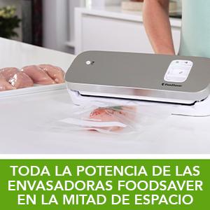 FoodSaver VS1191X - Envasadora al vacío de alimentos compacta con ...