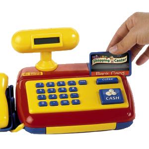 Theo Klein 9330 - elektronische Kasse mit Scanner: Amazon