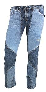 Jeanstrack Tardor Jeans Pantalón de Escalada-Trekking, Mujer ...