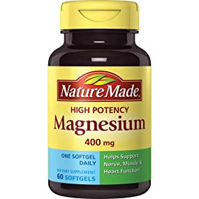 Nature Made High Potency Magnesium, 400 mg