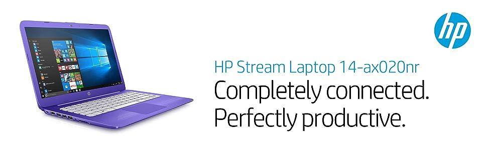 HP Stream Laptop PC 14-ax020nr (Intel Celeron N3060, 4 GB