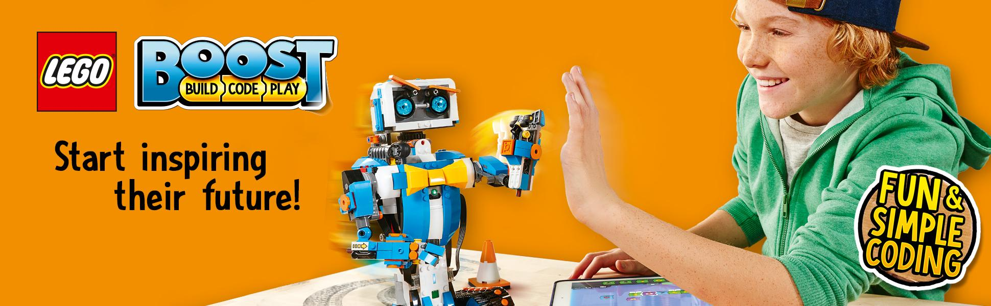 LEGO Boost Creative Toolbox: Fun Robot Building Set and Educational Coding Kit for Kids, Award-Winning STEM Learning Toy