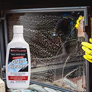 Rutland Products, glass cleaner, fireplace, wood stove, glass doors, home, maintenance
