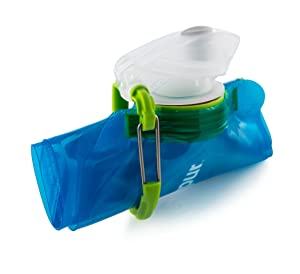 collapsible water bottle vapur element bpa free durable foldable 10159
