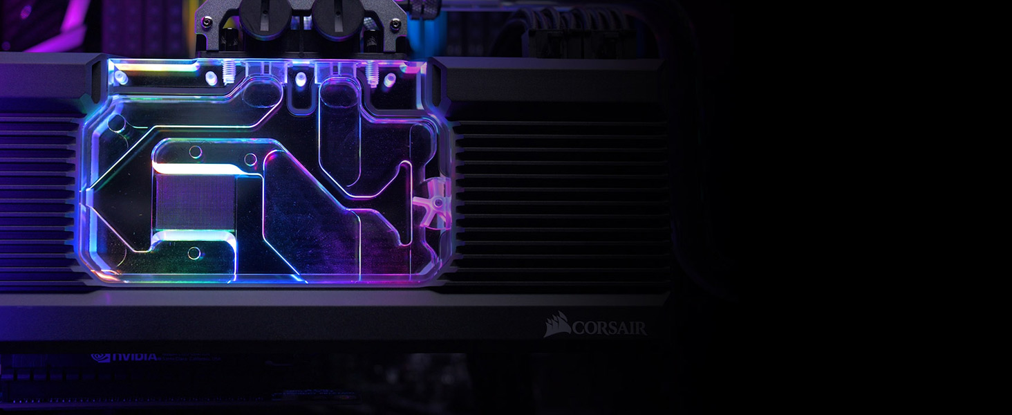 GeForce RTX 2080 Ti Reference XG7 RGB GPU Water Block 20-Series Corsair Hydro X Series