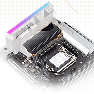 thermal design, Z490 VISION G