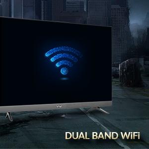 Dual Band WiFi, 2.4GHz, 5GHz