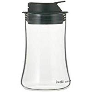 iwaki 塩 コショウ入れ KT5031BKSP しお こしょう 胡椒 スパイス 調味料 フタ付き ふたつき 蓋付き 衛生的 乾燥を抑える 風味を保つ