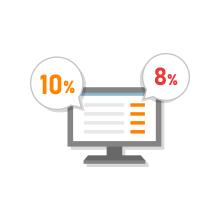 消費税率10%の入力・自動計算、明細ごとの課税区分で軽減税率8%の選択