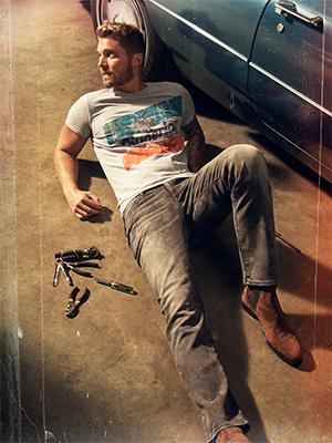 william rast men's denim jeans