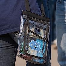 Logo Brands NCAA Alabama Crimson Tide Patterned Unisex Adult 16 Can Cooler Tote