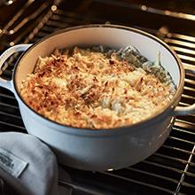 オーブンに入れて、さらに料理を思い通りに。