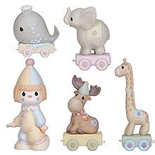 birthday train; precious moments train; birthday figurines; birthday gifts; happy birthday train