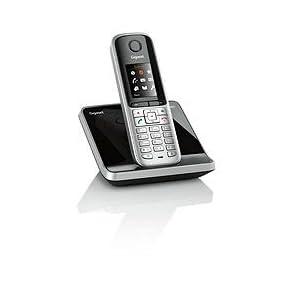 Gigaset S810 Schnurlostelefon 1 8 Zoll Stahlgrau Elektronik