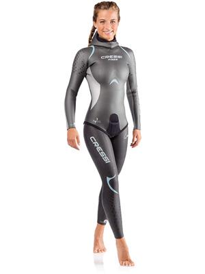 Cressi Free Traje para Nadar Mujer 3.5 mm: Amazon.es: Ropa y ...