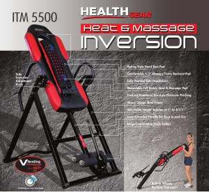 Health Gear ITM5500 Advanced Inversion Technology With Vibrating Massage & Heat