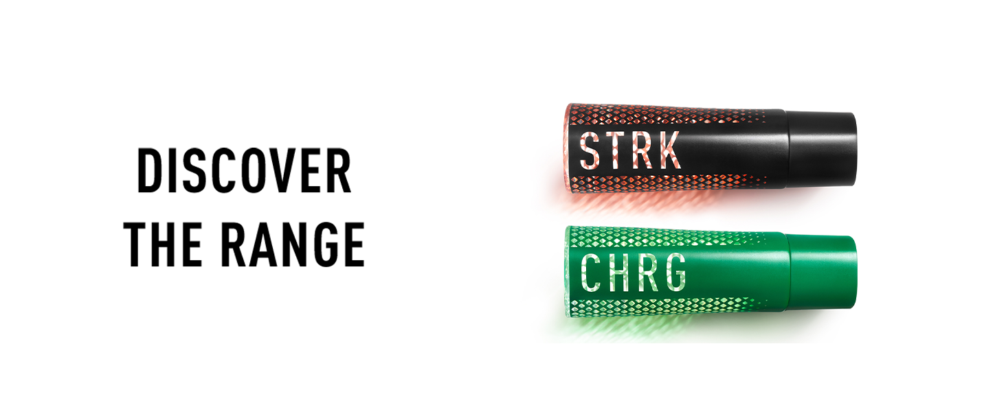 Discover the range - STRK and CHRG