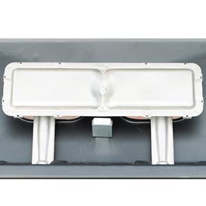 Campingaz Plancha L - Plancha de gas con dos quemadores de acero aluminizado, 7.5 kW de potencia, amplia plancha portátil acero antiadherente ...