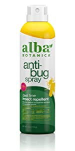 Deet-Free Insect Repellent Anti-Bug Spray