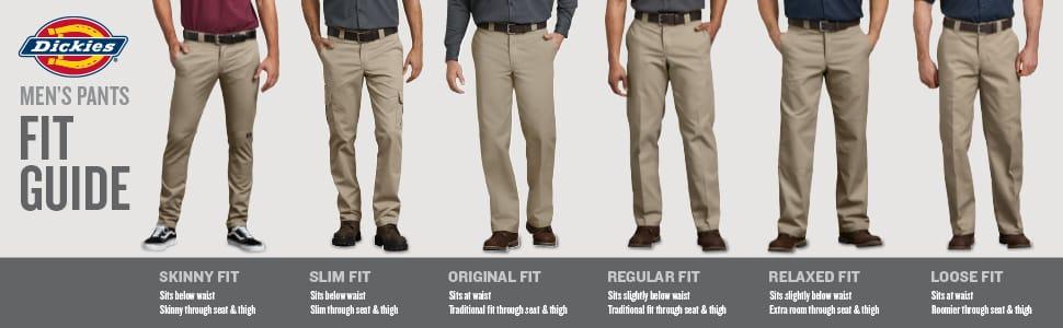 Dickies Mens Flex Work Pant Slim Taper Fit Pants